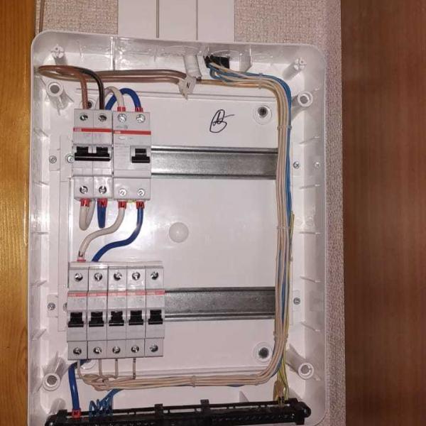 Сборка электрощита для трехкомнатной квартиры