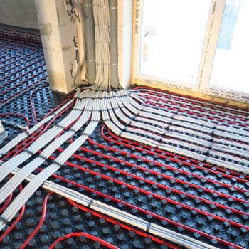 Монтаж электропроводки частного дома из пеноблока и бетона