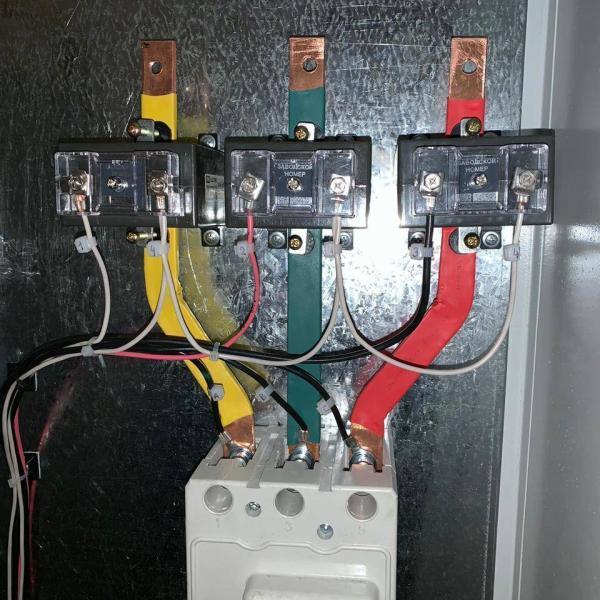 Сборка электрощита по типовой схеме ПАО МОЭСК М-124-155-3-250
