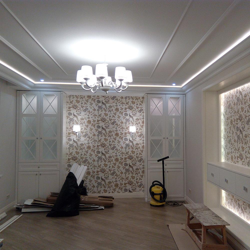 Монтаж электрики квартиры чистовой